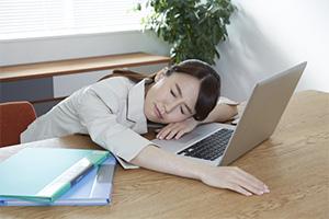 不眠の原因と対策中1